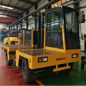 3 Ton Diesel Forklift Side Loader with Cab