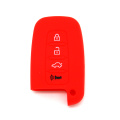 Waterproof rubber car key covers for Hyundai