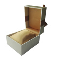 Wholesales Plain Color PU leather Watch Box