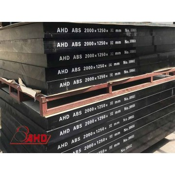 Discountable price for China Abs Sheet ,Extruded Abs Sheet,Abs Plastic Sheet Supplier High-strength Black Color ABS  Plastic Sheet supply to Iraq Exporter