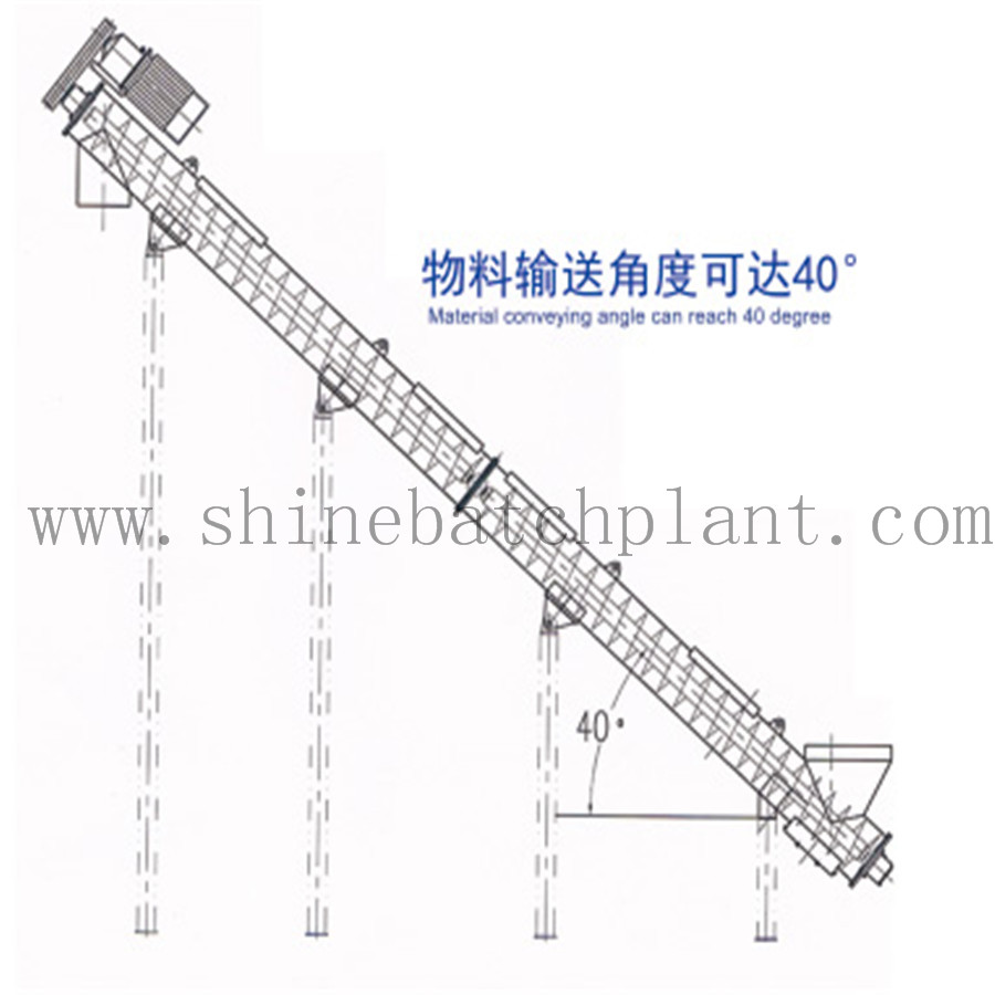 Single Screw Conveyor For Construction