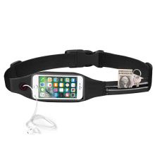 Travel Running Reflective Fanny Pack with Touchscreen Window