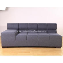 Modular Sectional Grey Fabric Tufty Time Sofa Replica