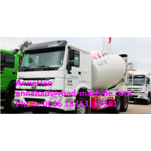 China for Mixer Truck Sinotruk howo7 Mobile Concrete Mixer Truck 9CBM supply to Faroe Islands Factories