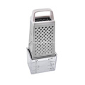Cheese vegetable grater with measuring cup