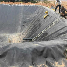 Factory source manufacturing for Plastic Film Geomembrane ASTM standard HDPE/LDPE/LLDPE geomembrane for Reservior export to Somalia Importers