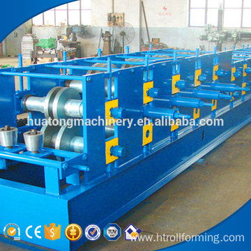 Z200 steel sheet rain gutter roll forming machine manufacture