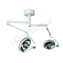 Fast Delivery for Best Double Dome Halogen Operating Lamp,Double Dome Operating / Surgical Room Lamp Manufacturer in China ceiling mounted halogen operation lamp for hospital export to France Metropolitan Wholesale