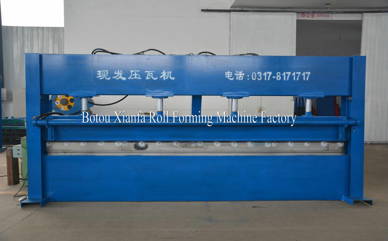 aluminium roofing sheet bending machine