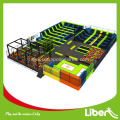 Kids Large Exercise Inside Trampoline Park