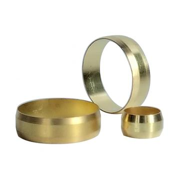 Compression Brass Sleeve Ring