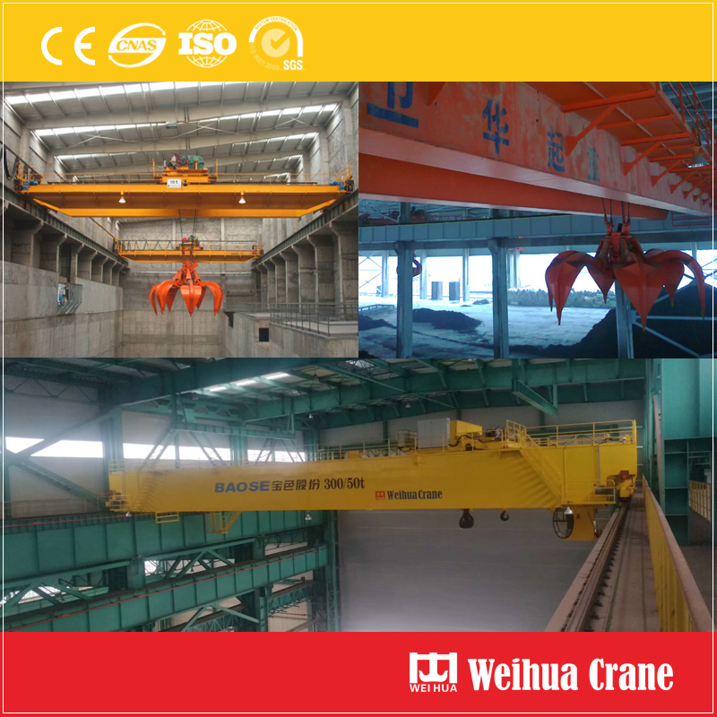 Overhead Crane with Grab