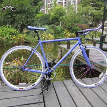 700C single speed fashionable fixie fixed gear bike