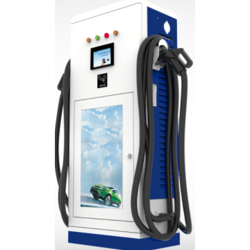 90 KW Column electric car fast charger