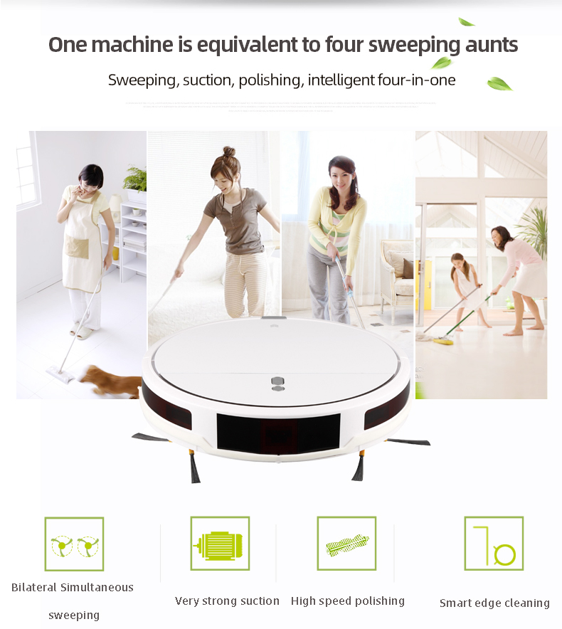 Smart Vacuum Cleaning Robot