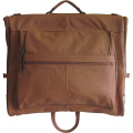 Professional Large Leather Suit Garment Bag