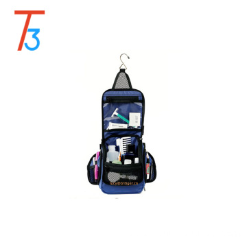 Compact Hanging Toiletry Travel Bag Personal Organizer