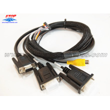RAC to D-SUB cable assemblies