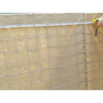 hesco flood barrier same as galvanized hesco barrier
