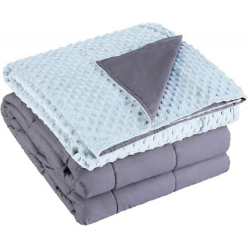 Gravity Weighted Anxiety Blanket With Duvet