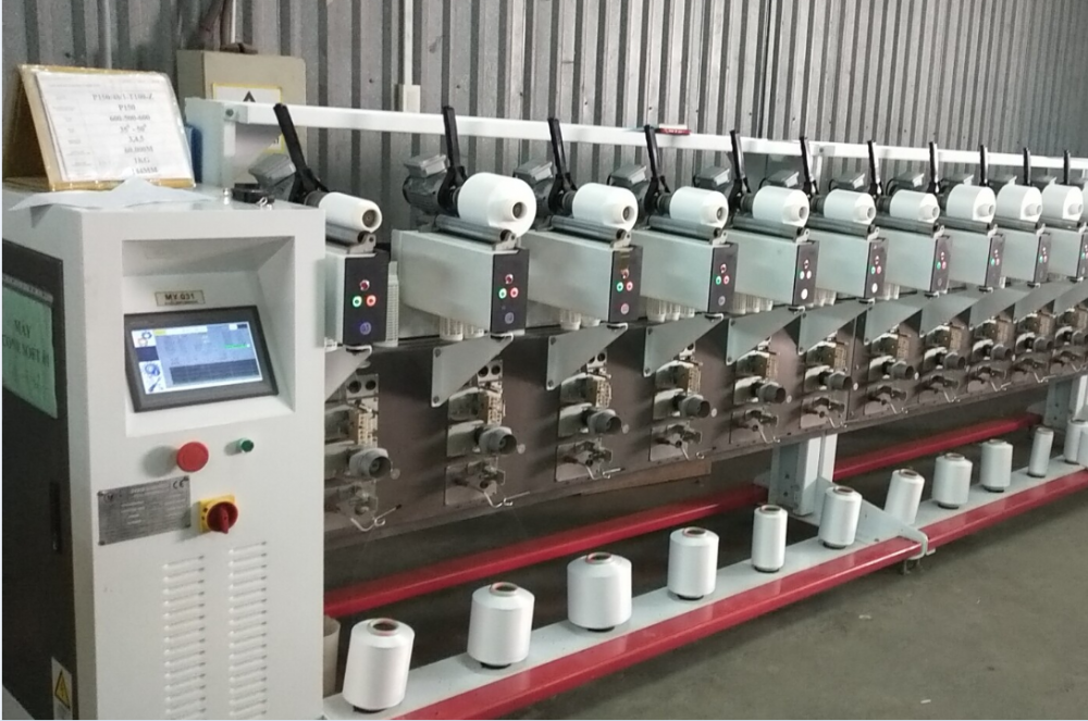 Electronic Cone to Cone Winding Machine