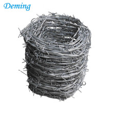 High Tension Galvanized Double Barbed Wire Mesh Fence