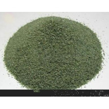 Green color silicon carbide well