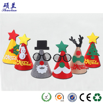 Felt Christmas decorative hat for party