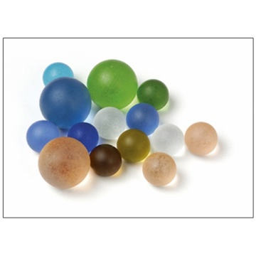 Best Quality for Frosted Glass Marbles Hot Selling Colorful Glass Marbles for Decorate export to Sao Tome and Principe Importers
