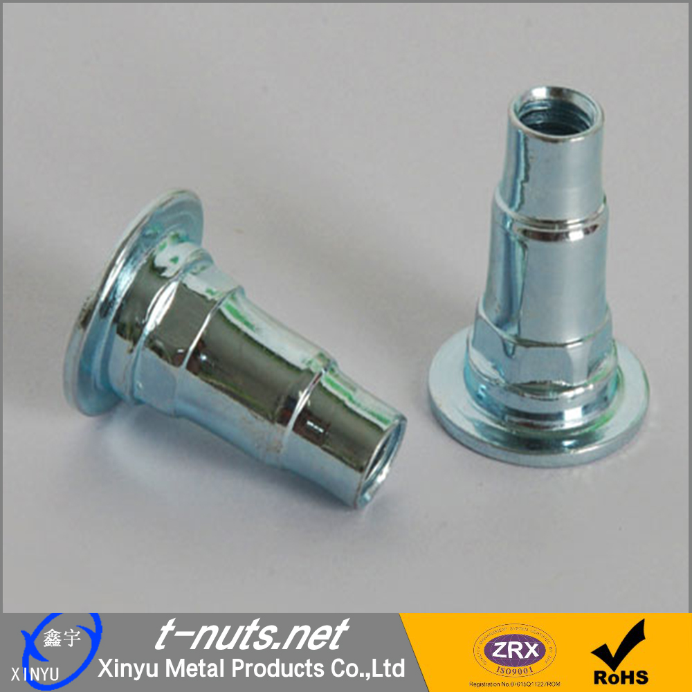 Tray Nuts with Zinc Plated