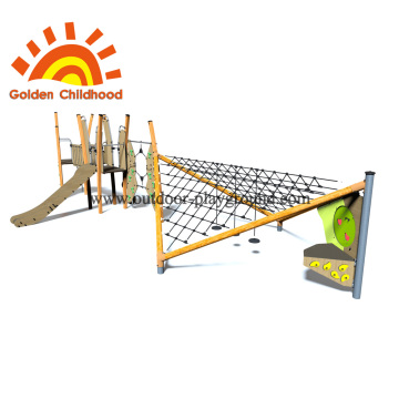 Large Climbing Net Outdoor Playground Equipment For Sale