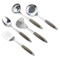 8PCS Stainless Steel Gold Plated Kitchen Utensil Set