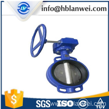 China Manufacturers for Concentric Butterfly Valve D371X-16 Wafer center line butterfly valve supply to Indonesia Factory
