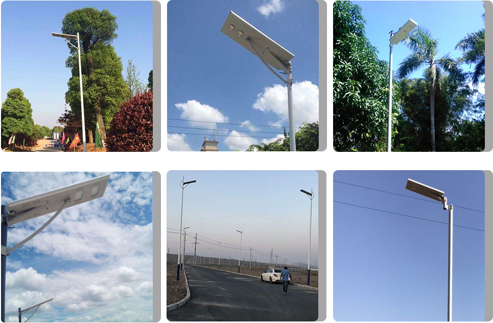 Solar Street Light Pole Specification