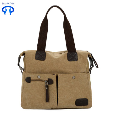 Travel bag canvas bag shoulder bag handbag