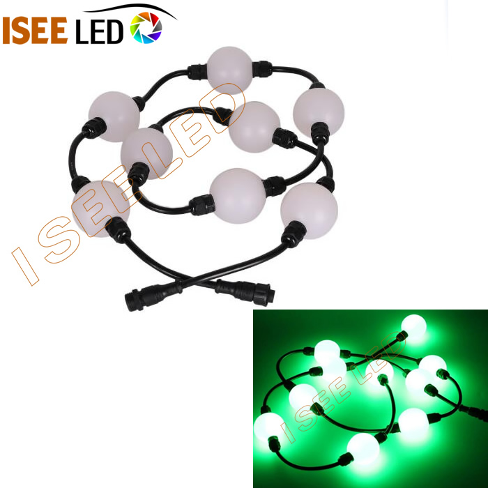 3D Magic RGB 50mm Pixel Led Ball String