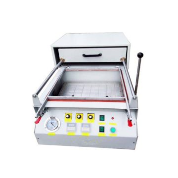Mini homemade vacuum forming machine
