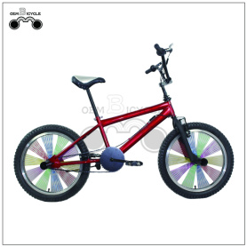 20inch Red Color Steel Freestyle BMX Bicycle