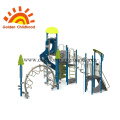 Outdoor Playground Equipment Blue For Children