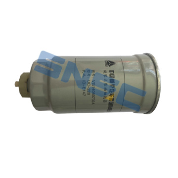 SINOTRUCK HOWO parts fuel filter VG14080739A