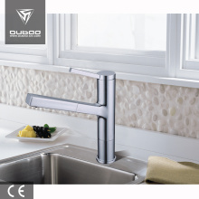 China for Chrome Finished Kitchen Faucet Commercial kitchen sink mixer tap faucet export to Italy Factories
