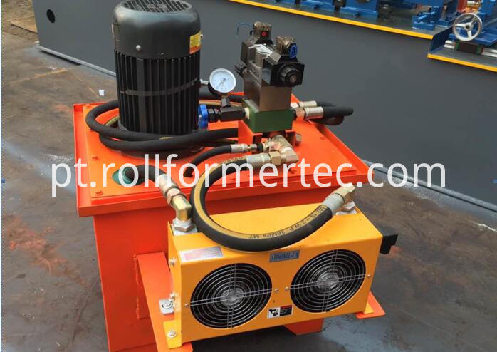 hYDRAULIC STATION OF THE cu STUD ANF TRACK ROLLFORMERS