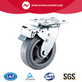 4'' Heavy Duty Swivel TPR Industrial Caster with PP Core