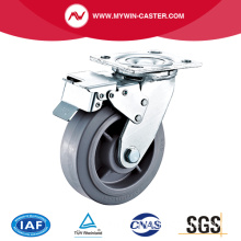 5'' Heavy Duty Swivel TPR Industrial Caster with PP Core