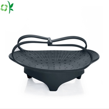 Silicone Kitchen Drain Basket for Fruit Vegetables