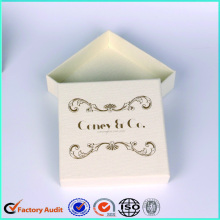White Jewellery Paper Boxes With Logo