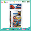 MARVEL SPIDERMAN 3 pcs stationery set