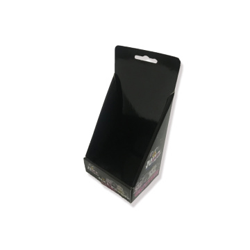 Black corrugated display boxes