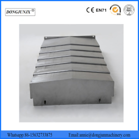 Telescopic Steel Plate Accordion Bellows Covers