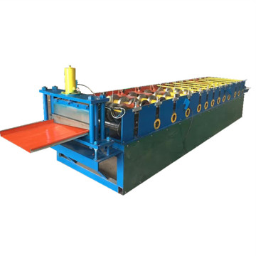 Color steel wall siding automatic roll forming machine